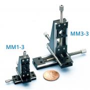 Miniature micropositioner - three axis