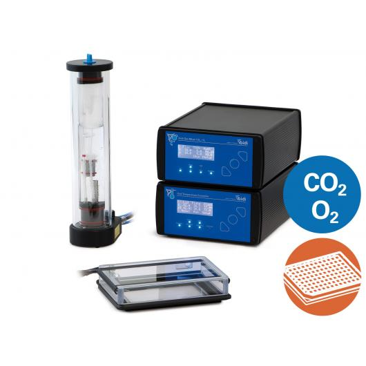 Ibidi Stage top Incubation System, multi-well plates, K-frame, CO2/O2