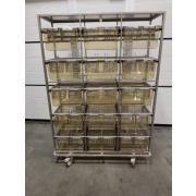 Sale of unused Tecniplast conventional cage racks