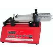 Programmable double syringe pump