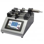 Dual rate syringe pump