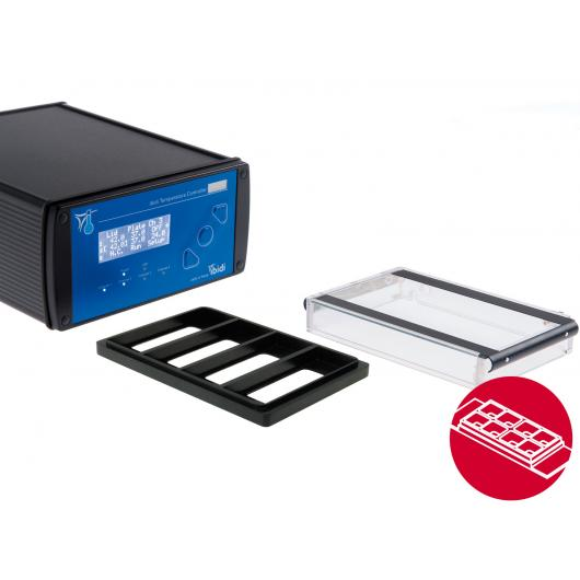 ibidi heating system, universal fit, for 4 µ-Slides