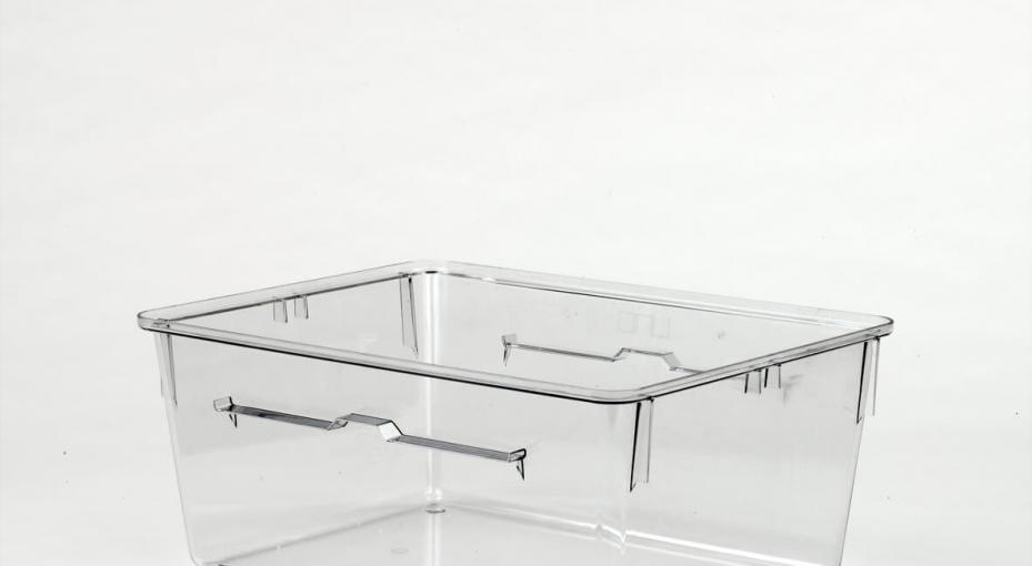 Plastic cage for vivarium