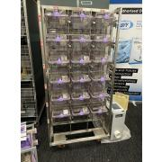 IVC NexGen rack with 18 cages for mice with EcoFlo blower