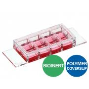 µ-Slide 8 Well high Bioinert, Polymer Bottom