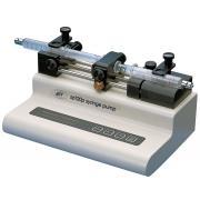 Two-syringe push-pull pump