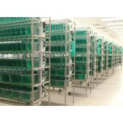 Modular systems requiring central filtration