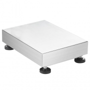 W series stainless steel platforms, capacity 8 kg to 150 kg